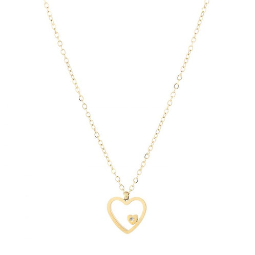 Ketting * Heartbeat * gold