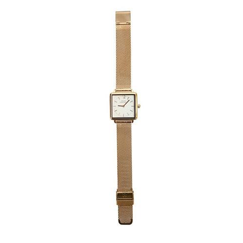 Horloge rose-wit