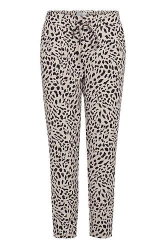 Casual broek rizetta leopard