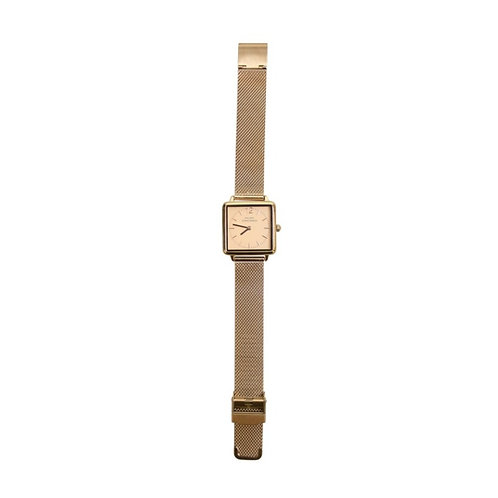 Horloge rose-rose