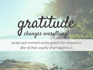 Attitude of Gratitude for Greater Health