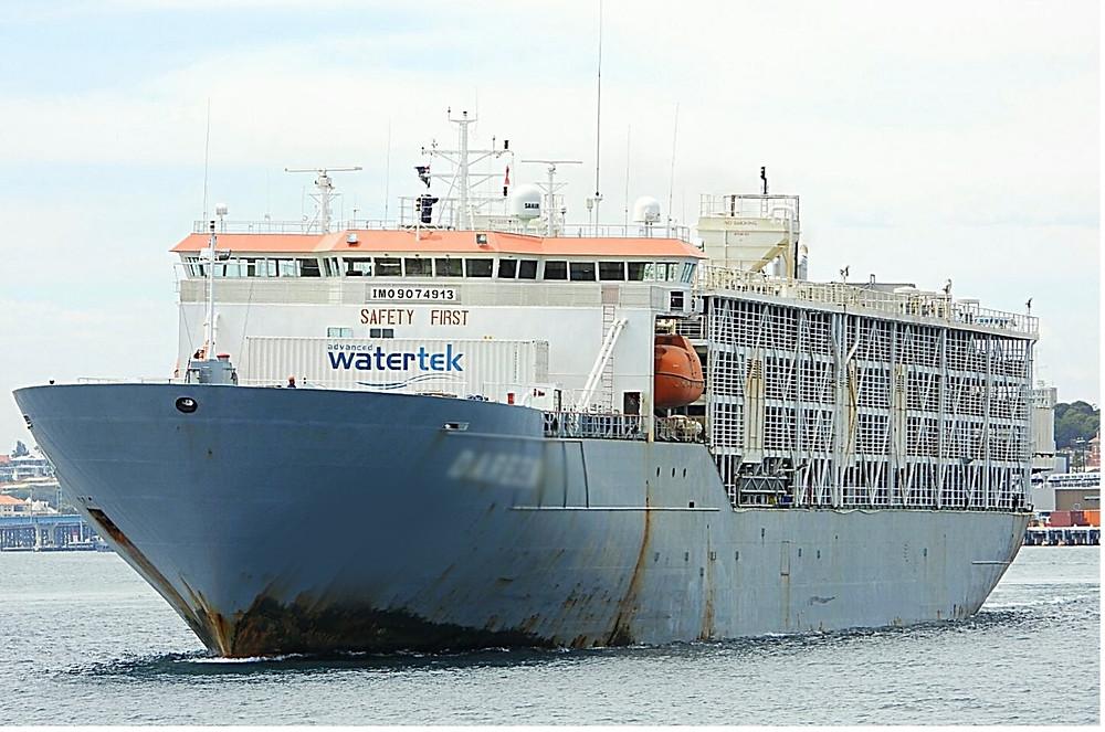 Marine Vessel - Livestock carrier with Water Maker by Watertek
