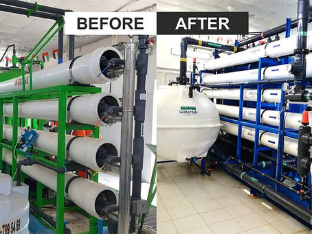 Advanced Watertek helps double production capacity with overhaul of Sea Water Reverse Osmosis System
