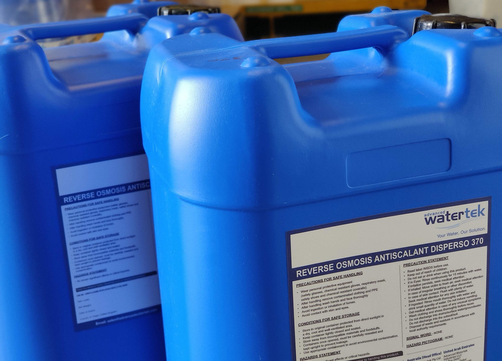Use of Antiscalants in Reverse Osmosis Systems
