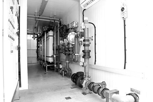 water treatment plant in oil & gas industry