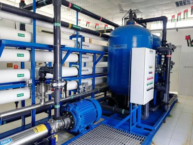 seawater reverse osmosis desalination plant