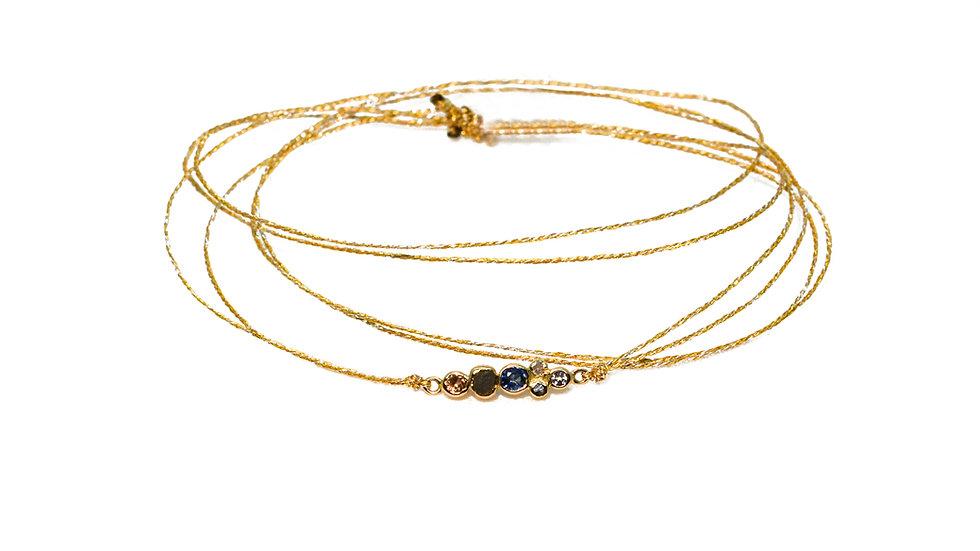 Bracelet sable & diamants