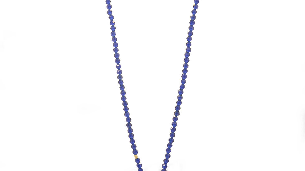 Collier mer - Fluorite et lapis lazuli