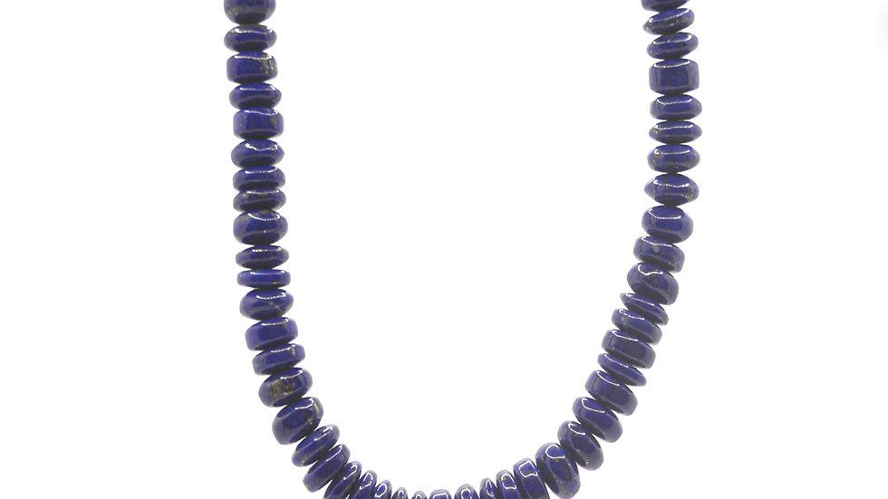 Collier mer - Collier en lapis lazuli bleu intense