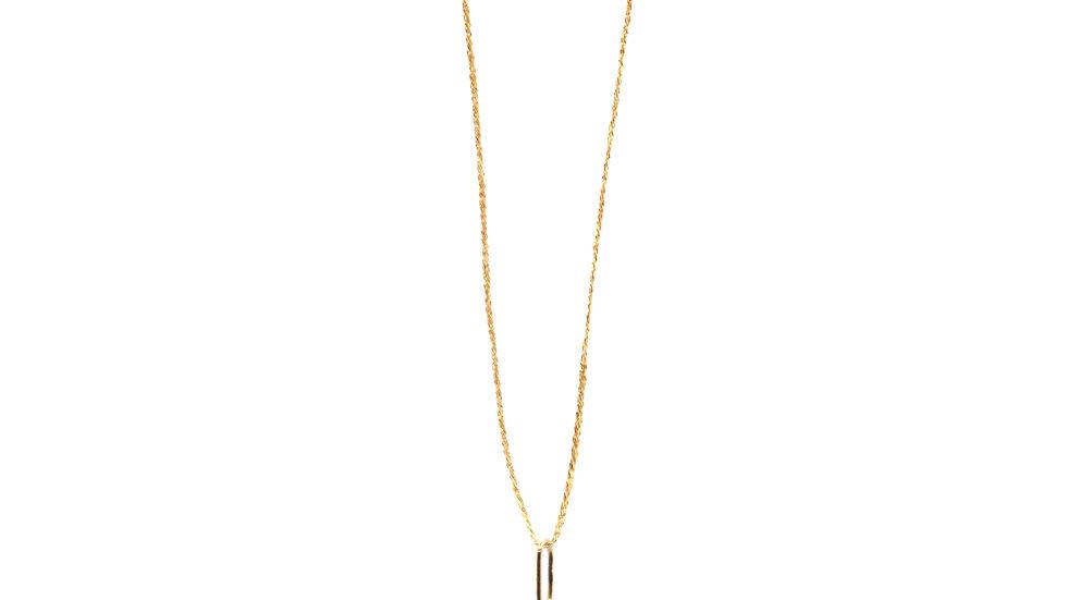Collier sable & diamants - Saphirs, diamants et grain de sable