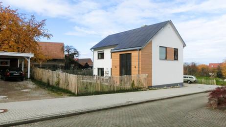 Neubau eines hochwertigen Einfamilienhauses