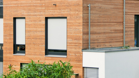 Neubau in Holzbauweise