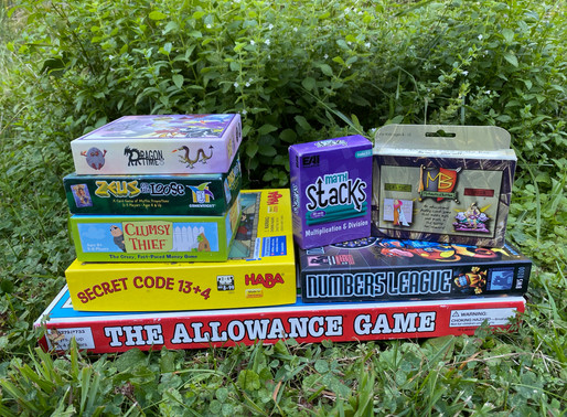 Favorite Math Games for Grades 2-3