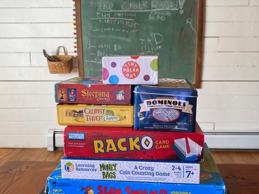 Favorite Math Games for Grades K-1