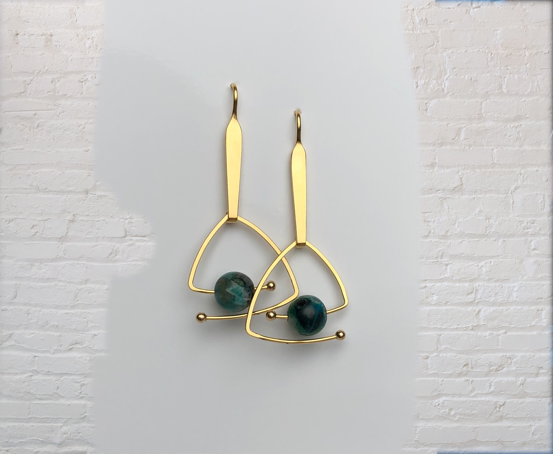 golden earrings : 825 €