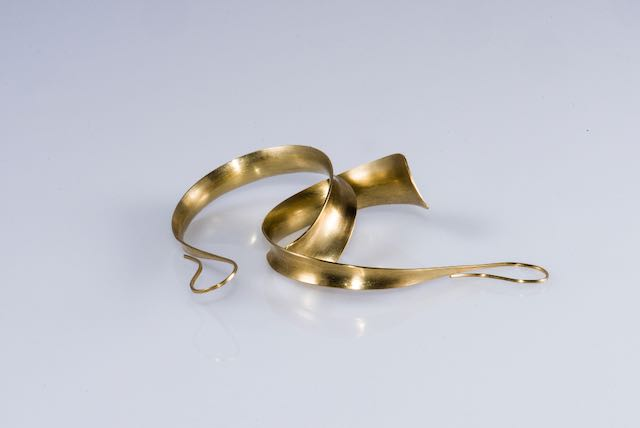 golden earrings 18K : 400 €