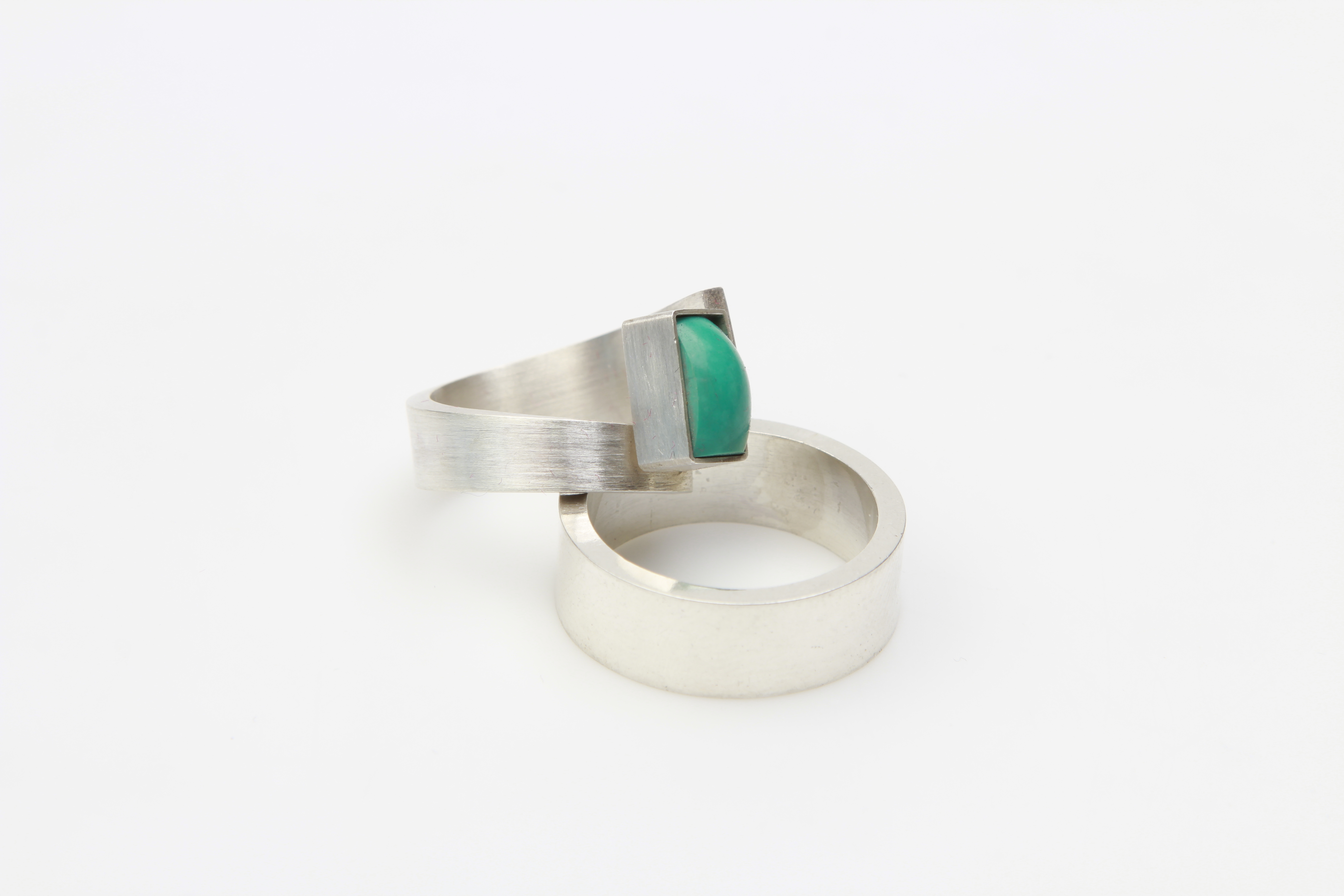 silver rings turkoois : 450 €