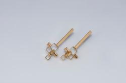 oorbellen goud : 250 €