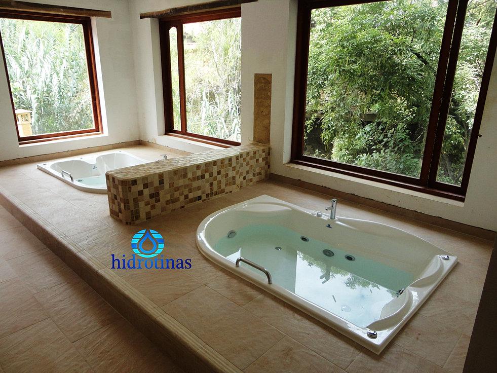 Hidrotinas* jacuzzis saunas baños turcos