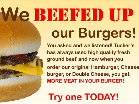 We BEEFED UP Our Burgers!