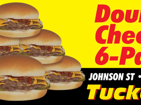 Grab a Double Cheese 6-Pack to Go!
