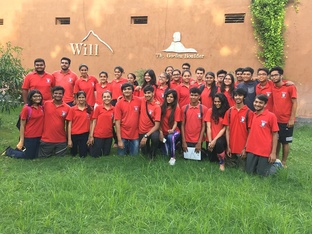 The Anand Niketan School delegation