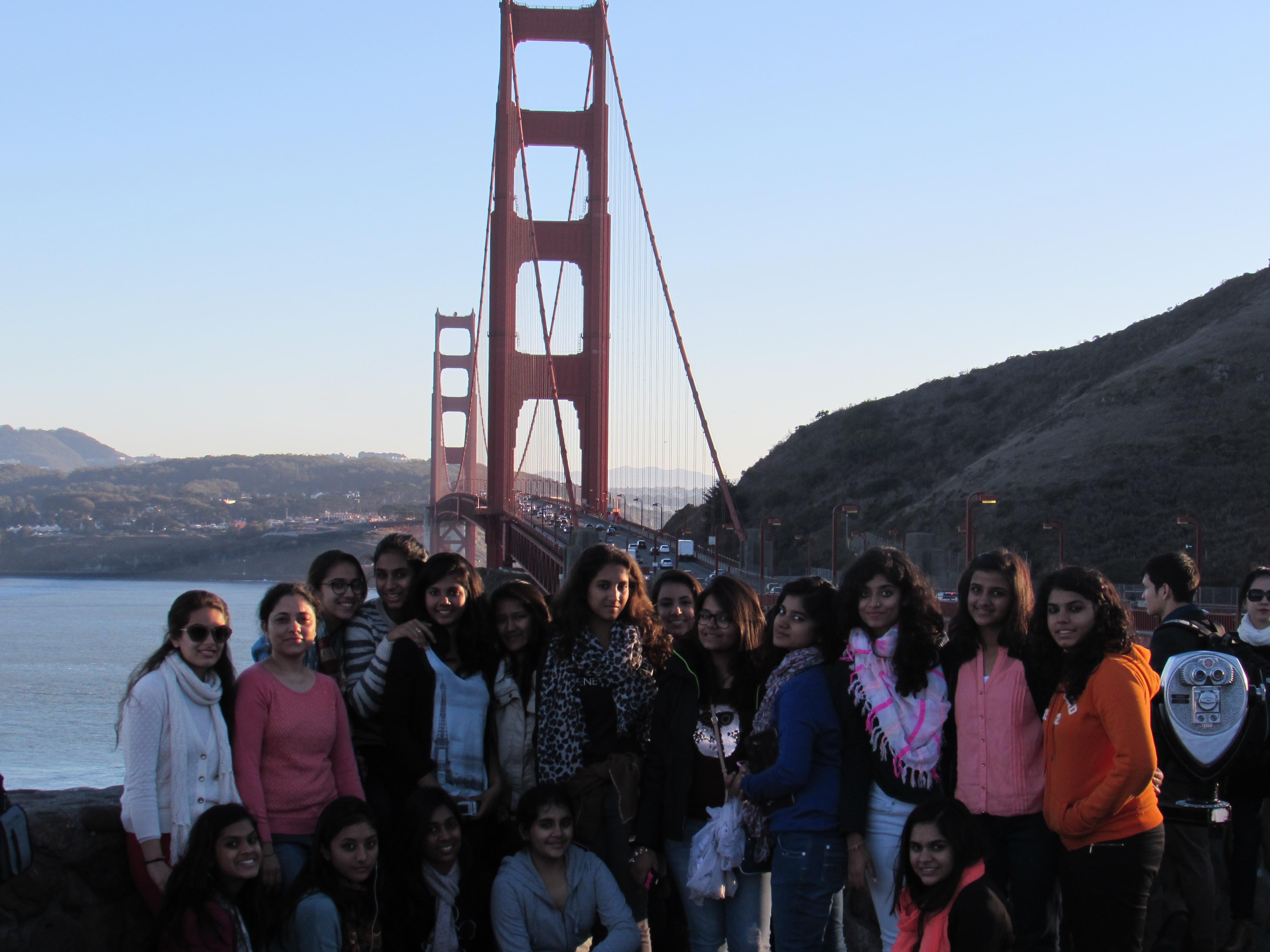 Mayo's Delegation at Golden Bridge
