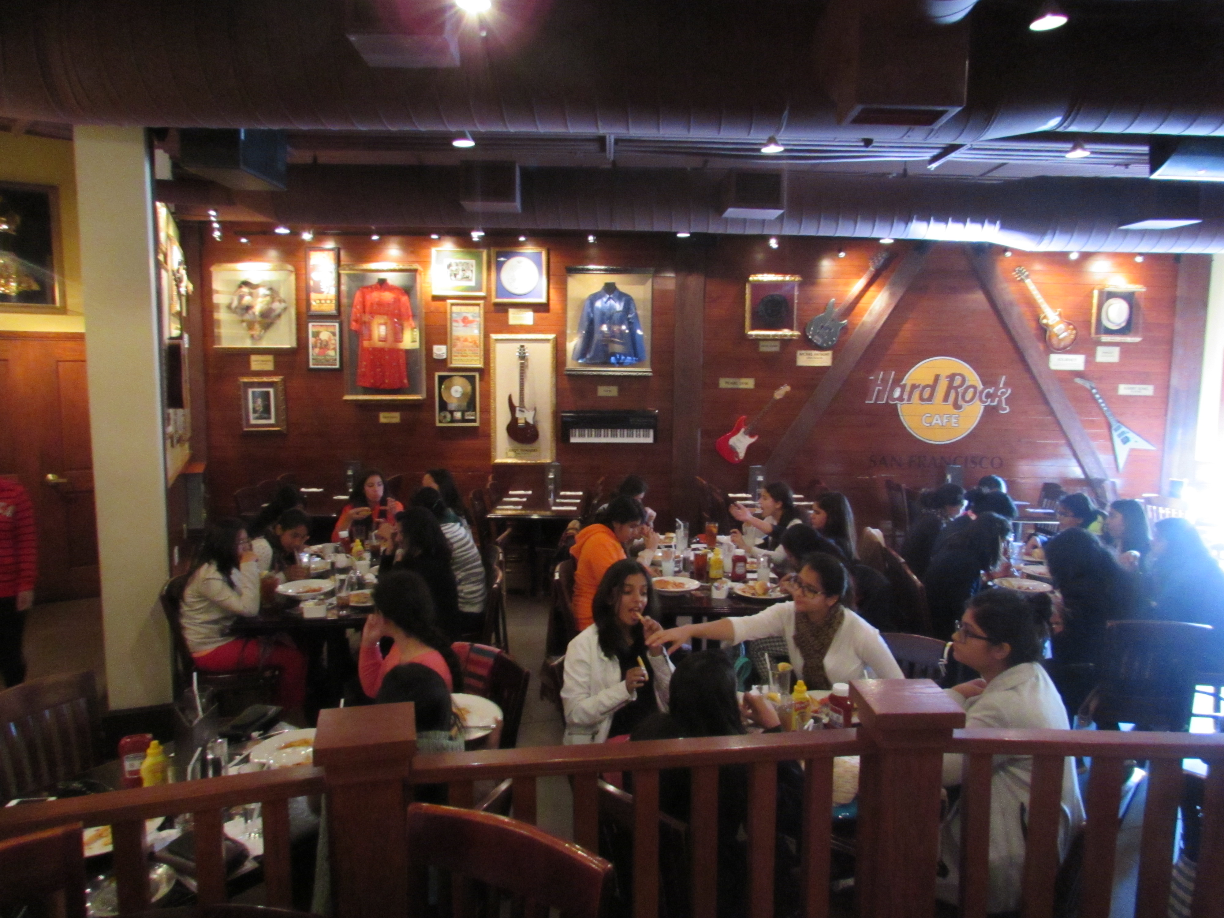 Lunch at Hard Rock Cafe
