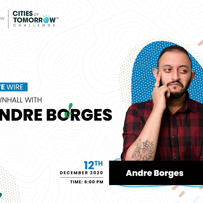 Townhall with Andre Borges