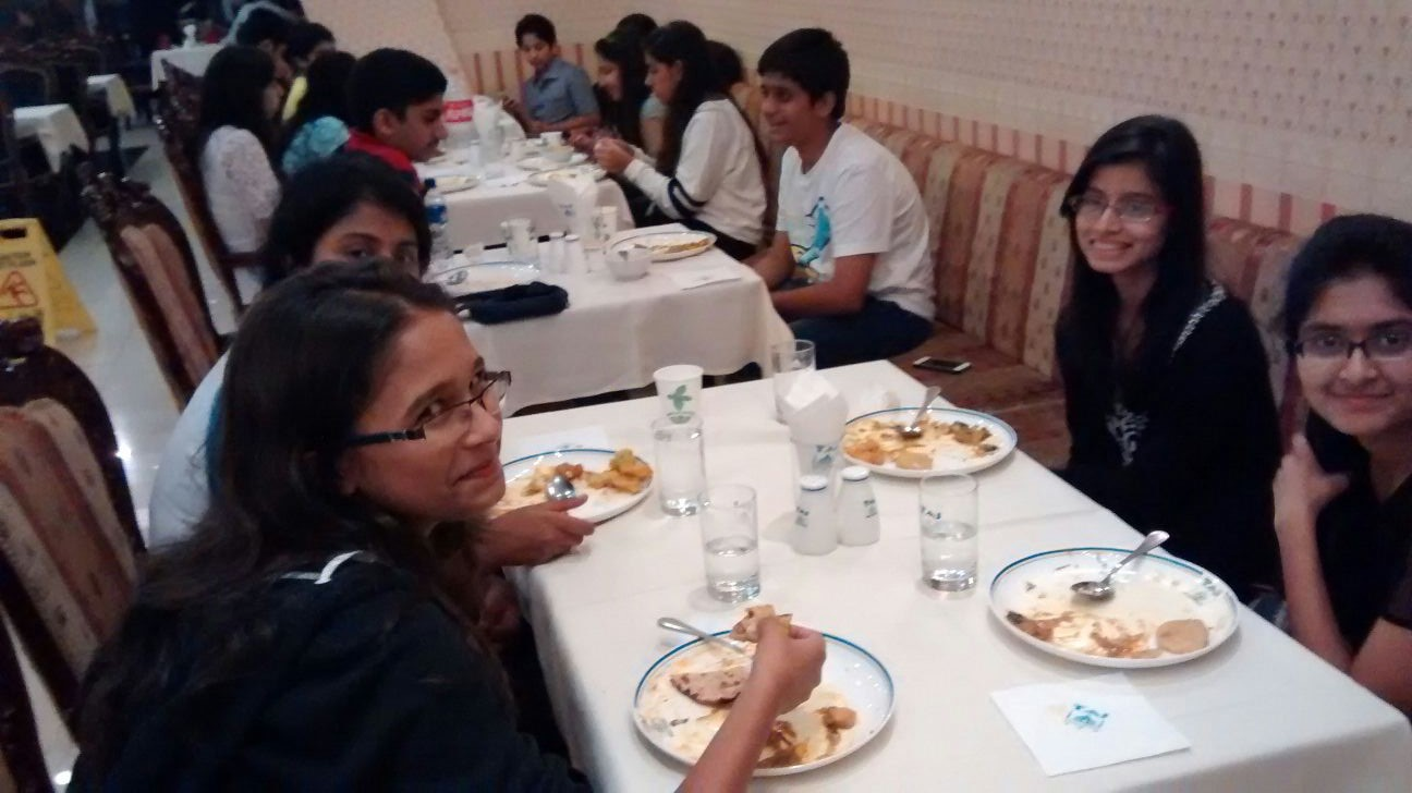 Indian Dinner at Taj Pavilion