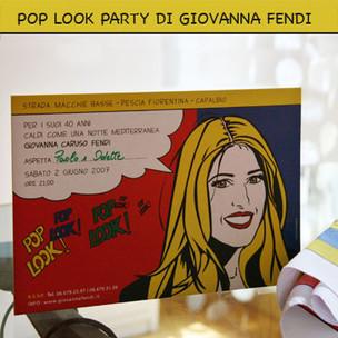 Party Invitation. Giovanna Fendi Caruso