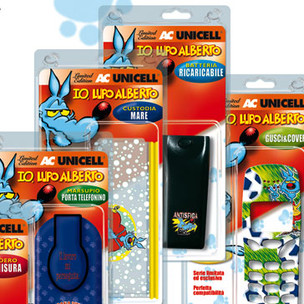Promotional Packaging. Lupo Alberto for Unicell