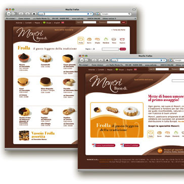 Website for Moncrì