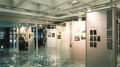 Architectural Design / Photographic Expo Anniversary at WFP / FAO