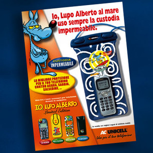 ADV. Lupo Alberto for Unicell