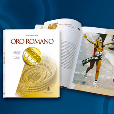 ORO ROMANO Book Visual Design for the Province of Rome