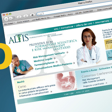 Logo, Visual Branding and Website for Altis Consulting