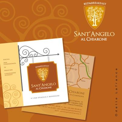 Logo Desing for B&B Sant'Angelo