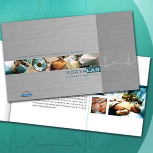 Brochure design. ACAYA