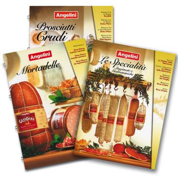 Product Catalogue Design for Angelini Tenimenti SpA