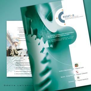 Brochure Design. RESET-D Project