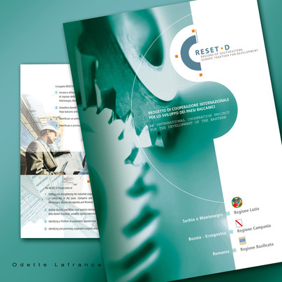 Graphic Design and Brand image of RESET-D Project