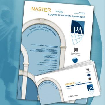 Visual Brand for MASTER IPA Tor Vergata University of Rome
