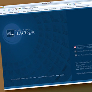 WEb Page design. ILACQUA