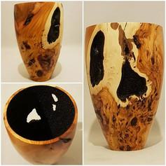 yew vase SOLD