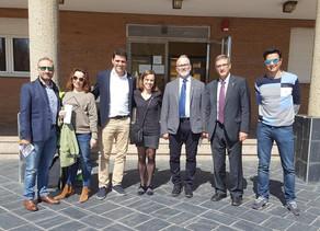 Toma de Posesión de los cargos de la nueva Junta Directiva de COLEF Castilla y León