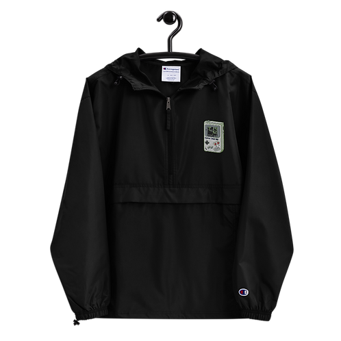 Cheat Codes Embroidered Champion Packable Jacket