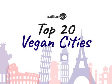Top 20 Vegan Cities in 2020