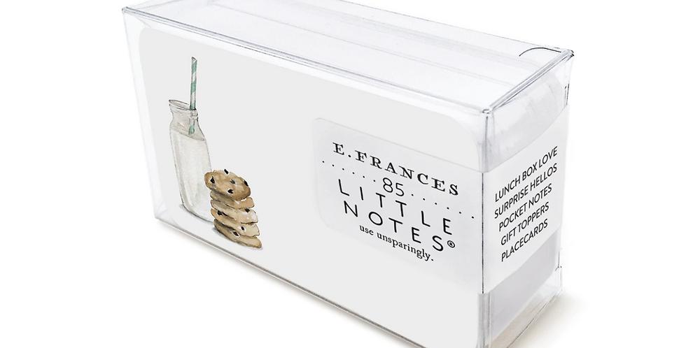 Cookies & Milk Little Notes