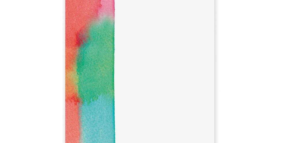 Color Stripe Mini Notepad